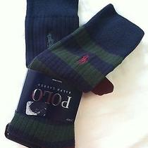 Polo Ralph Lauren Mens New Multicolor Cotton Blend Dress Socks 6-12 1/2 Photo