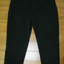 Polo Ralph Lauren Mens Pleated Black Andrew Pants Tag 50b-32 Big Actual 48x32 Photo