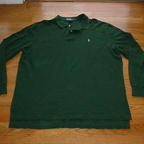 Polo Ralph Lauren Mens Polo Shirt Xl X-Large Pony Logo Casual Dress Golf Nice Photo