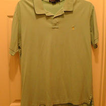 Polo Ralph Lauren Mens S/s Casual Aqua Shirt Yellow Pony Logo Size 2xl Xxl Photo