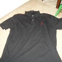 Polo Ralph Lauren Polo Shirt Large Black Photo