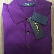 Polo Ralph Lauren Purple Polo Top Shirt Size Xs New Photo