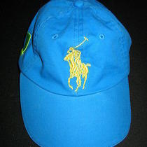 Polo Ralph Lauren Rl Big Pony Fragrance Collection Hat Cap Blue 1 Rare Photo