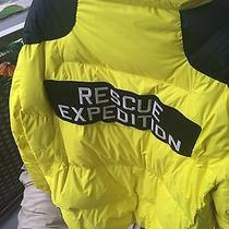 Polo Ralph Lauren Rlx 2012 Yellow Radial Goose Down Jacket Rescue Expedition Photo