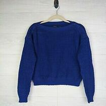 Polo Ralph Lauren Royal Blue Women's Sweater - Size Small Photo