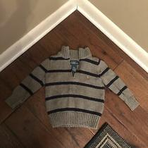 Polo Ralph Lauren Toddler Boys Pullover 1/4 Zip Sweater - Size 2/2t Photo