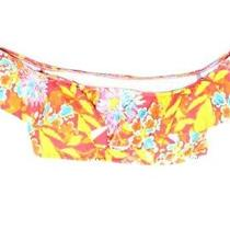 Polo Ralph Lauren Womens Swimwear Orange Size Large L Floral Bikini Top 64 890 Photo