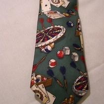 Pool / Darts / Cards / Dice   Bar Games   Tie  by   Lands' End  Photo