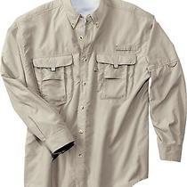Port Authority - Explorer Fishing Shirt. S200 4xl Fossil Beige 6109 Photo
