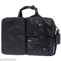 Porter Luggage Label Element 2way Brief Case Black Yoshida Shoulder Suit Belt  Photo