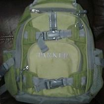 Pottery Barn Boys Backpack. Monogrammed With Parker.  Photo