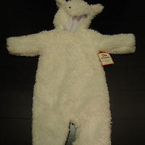 Pottery Barn Kids Baby Lamb Halloween Costume With Hood 6-12 Months So Cute Photo