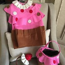 Pottery Barn Kids Cupcake Costume 2t-3t With Treat Bag Photo
