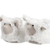 Pottery Barn Kids Nusery Fur Animal Slipper Lamb New Photo