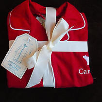 Pottery Barn Kids Red Flannel Pajamas Size 4