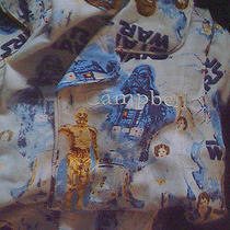 Pottery Barn Kids Star Wars Pajamas Sz 6