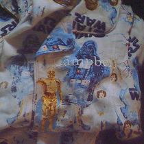 Pottery Barn Kids Star Wars Pajamas Sz 6