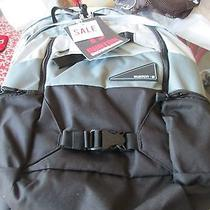 Pottery Barn Teen Burton Day Hiker Backpack Black Charcoal Grey New With Tag Photo