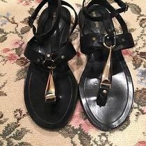 Pour La Victoire Acadia Flat Vachetta Sandal Photo
