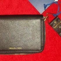 Pour La Victoire Black Leather Tech Iphone Wristlet Wallet La Garconne 128 Photo