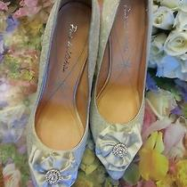 Pour La Victoire Carla Wedding Bridal Shoes  Rhinestone Bow