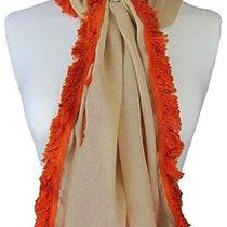 Powder Brand Scarf Freya in Cream With Powder Gift Bag Photo