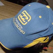 Powered by Billabong Logo Surfer 1 Size Flexfit X-Fit Adult Hat Cap Blue Yellow Photo