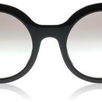Prada 06qs Journal Black 1ab0a7 Sunglasses Photo
