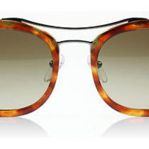 Prada 17qs Society Light Tortoise 4bw1x1 Sunglasses Photo