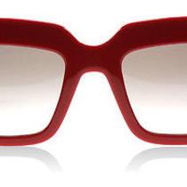 Prada 28ps Red and Black Smn0a7 Sunglasses Photo