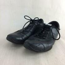 Prada  6 State Consideration Leather Cracks Size 6 Black Sneaker 057 From Japan Photo