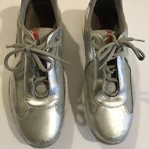 Prada Americas Cup Sneakers Size 9 1/2 Photo