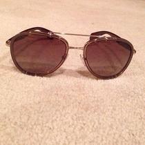 Prada Authentic Aviator Sunglasses Photo