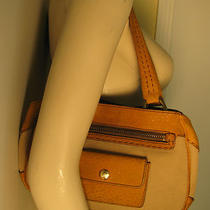 Prada Beige Canvas Leather Bag Purse Handbag Satchel Hobo Tote Clutch Wallet  Photo