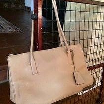 Prada Beige Leather Handbag Photo