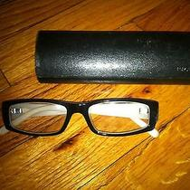 Prada Black & Beige Women's Glasses Frames Photo
