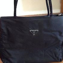 Prada Black Cloth Purse Photo