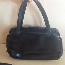 Prada Black Leather Handbag Photo