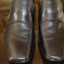 Prada Black Leather Shoes Size 11-11.5 Photo