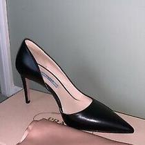 Prada Black Luxury Pump Heels Us 36  Dust Bag Included  Worn Once Photo