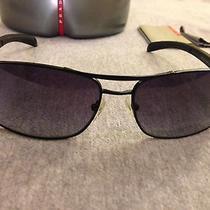 Prada Black Sunglasses Authentic Gorgeous Great Deal Photo