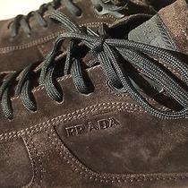 Prada Brown Suede Sneaker/shoe (Prada Sz 10) Photo