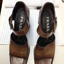 Prada Brown Women's Shoes/ Pumps Classic 36.5  Photo