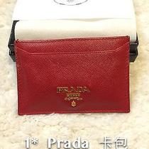 Prada Card Holder Saffiano Photo
