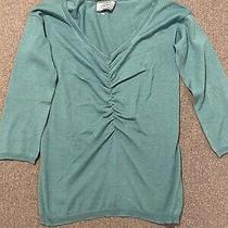 Prada Cashmere Silk Sweater Top Women Size 38 Small Xs Photo