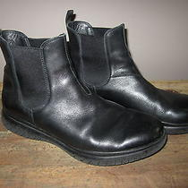 Prada Chelsea Leather Slip on Boots. Very Nice Size 8 Photo