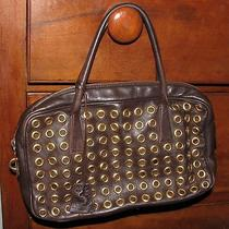 Prada Clutch Brown Leather Photo