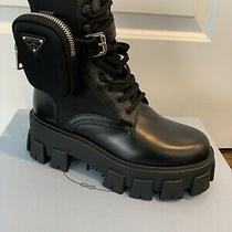 Prada  Combat Boots Size 38 Brand New. Sold Out Everywhere  Authentic C/ Rec Photo