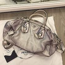 Prada - Cool Modern Vintage Silver Handbag  Photo