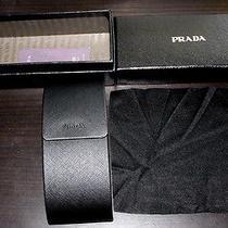 Prada Glasses / Sunglasses Case - Magnetic Closure New Photo